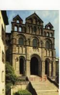 CPM.Le Puy En Velais Façade Occidentale De La Cathédrale.ed:Mappus Num:680 - Le Puy En Velay
