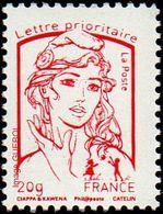 France Marianne De La Jeunesse Par Ciappa Et Kawena N° 4767_b ** TVP Rouge 20g. Sérigraphie Sans Phosphore - 2013-... Marianne (Ciappa-Kawena)