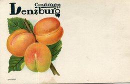 PUBLICITE(CONFITURE LENZBURG) ABRICOT - Publicité