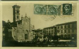 PRATO - PIAZZA DEL DUOMO - EDIZIONE FRANCHI - 1929  (3369) - Prato