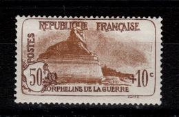 3eme Orphelins - YV 230 N* Charniere Cote 25 Euros - Nuevos