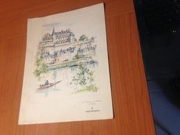 MENU AIR FRANCE 23 Juillet 1965 - Vol Special PARIS NEW YORK  -en Boeing Jet Intercontinental -illustration Pierre PAGES - Menus
