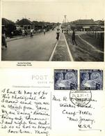 Indonesia, JAVA BATAVIA, Tandjong Priok, Zuiderboorweg (1937) RPPC Postcard - Indonesië