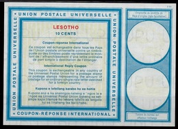 LESOTHO Vi1910 CENTS International Reply Coupon Reponse Antwortschein IAS IRC mint** - Lesotho (1966-...)