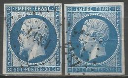 FRANCE - Oblitération Petits Chiffres LP 1341 FRESNOY-LE-GRAND (Aisne) - Marcophilie (Timbres Détachés)