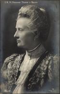 Cp Princesse Therese Von Bayern, Portrait - Königshäuser