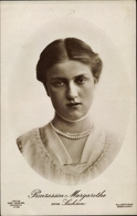 Cp Princesse Margarethe Von Sachsen, Portrait - Königshäuser