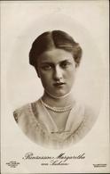 Cp Princesse Margarethe Von Sachsen, Portrait - Familles Royales