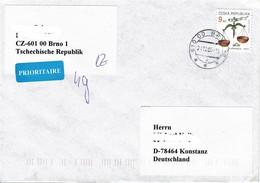 Tschechische Republik / Czech Rep - Umschlag Echt Gelaufen / Cover Used (c521) - Tschechische Republik