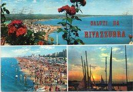 Rimini - Saluti Da Rivazzurra - Fg Vg - Rimini