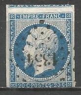 FRANCE - Oblitération Petits Chiffres LP 1354 FUMEL (Lot & Garonne) - Marcofilie (losse Zegels)