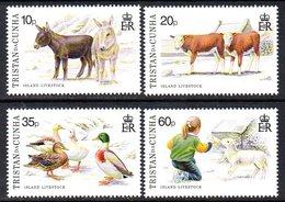 Tristan Da Cunha 1994 Island Livestock I Set Of 4, MNH, SG 572/5 - Tristan Da Cunha