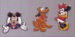 BD301 Pin's 3 PIN'S Arthus Bertrand Signés Esso DISNEY AB ACHAT IMMEDIAT - Disney