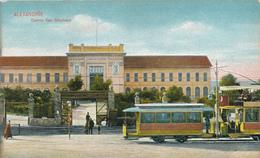 682/29 - EGYPT ALEXANDRIA Electric Tramway - Viewcard Of The Casino San Stephano - Unused - Editor Theodossiou - Alexandrie