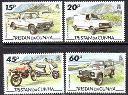 Tristan Da Cunha 1995 Local Transport Set Of 4, MNH, SG 576/9 - Tristan Da Cunha