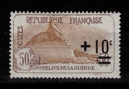 YV 167 N* (trace) 2eme Orphelins Correctement Centré Cote 27+ Euros - Nuevos