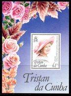 Tristan Da Cunha 1995 Queen Mother's 95th Birthday MS, MNH, SG 585 - Tristan Da Cunha