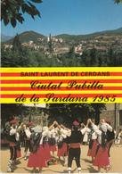SAINT LAURENT De CERDANS  - Liutat Pubilla De La Sardana 1986 - France