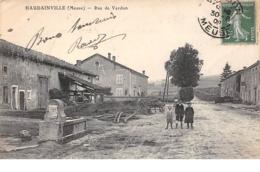 55    .    N° 202420      .         HAUDAINVILLE             .                RUE DE VERDUN - Francia
