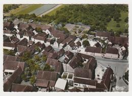 10 Coussegrey Vers Chaource N°13.45 Vue Aérienne Sur Le Centre En 1971 Attelage Cheval Ou Chien ? Station Essence - Chaource