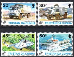 Tristan Da Cunha 1996 50th Anniversary Of The UN Set Of 4, MNH, SG 590/3 - Tristan Da Cunha