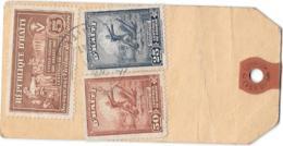 HORS SAC POUR LA FRANCE DE PETIONVILLE. REGISTERED.. POUR BORDEAUX. TIMBRE N°314-316. BIENFAISANCE N°6 BRUN.TBE - Haïti