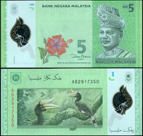 Malaysia 5 Ringgit. ND (2012) Polymer Unc. Banknote Cat# P.52a - Malesia