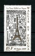 WALLIS FUTUNA 2009  N° 727 ** Neuf MNH Superbe Tour Eiffel En Tapas Ecole De Liku - Wallis-Et-Futuna