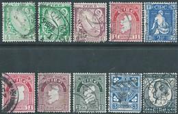 EIRE - Irlanda -Irland 1922 - 1923 -1944/45 - Mix Used- Value €11,00 - 1922-37 Stato Libero D'Irlanda