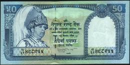 NEPAL - 50 Rupees Nd.(2002-2005) {blue Portrait} UNC P.48 B - Nepal