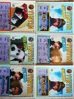 TINTIN / THE ADVENTURES OF TINTIN 6 BILLETS DE LOTERIE BELGE - Billets De Loterie