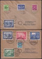 Deustche Post - 1947/1948 - Brief - Leipziger Messe - Zona Soviética