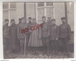 Fixe Archive Lieutenant Poirier * 3 E Régiment De Zouaves Zouave 1 Er Bataillon Les Officiers Médaille Décoration - 1914-18