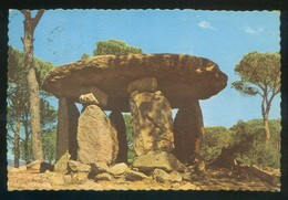 Vallgorguina *Dolmen Pedra Gentil* Ed. Fotocolor Valman Serie D 376. Circulada. - Barcelona