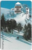 Andorra - STA - Congress Of Snow Tourism, 04.1998, 100Units, 10.000ex, Used - Andorra
