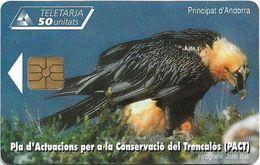 Andorra - STA - Gypaète Barbu, 06.2004, 3€, 20.000ex, Used - Andorra