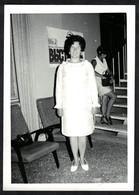 Photo Ancienne 1970 Snapshot 12 X 9 - Femme En Robe De Soirée Sh58 - Anonymous Persons