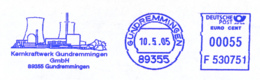 Freistempel 7357 Kernkraftwerk Gundremmingen - [7] Federal Republic