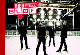 NEDERLAND, 2012,PERSONALIZED PRESTIGE BOOKLET, PP 32, 20 Years Rock Brand Bløf - Postzegelboekjes En Roltandingzegels