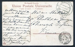 Postmark BEIRUT ÖSTERREICH POST 1914  On PPC BEIRUT From The American College. LIBAN LEBANON - Levant Autrichien
