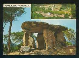 Vallgorguina. *Dolmen Piedra Gentil. Vista Parcial* Ed. Fot. Valman. Circulada 1974. - Barcelona