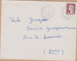 ENVELOPPE  1964 SAINTES  -CPN 94  CHARENTE MARITIME  VOIR PHOTO - Marcophilie (Lettres)