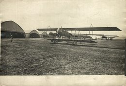 CAMP D'AVIATION   +-18*13CM WORLD WAR GUERRE MUNDIAL - Aviación
