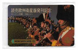 UK (Mercury) - Japan Journals, Pipers - MER347 - 20MERC - 3.500ex, NSB - Royaume-Uni