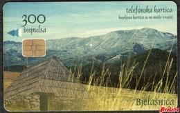 Bosnia Sarajevo -  Bjelasnica Mountain, Used Chip Card - Bosnië