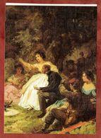 Carl Spitzweg, Das Picknick (77208) - Künstlerkarten