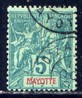 MAYOTTE - 4°  - TYPE GROUPE - Used Stamps