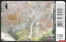 Bosnia Sarajevo - Skakavac Waterfall, Used Chip Card - Bosnië