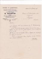 76-A.Martin...Epicerie & Comestibles...Yvetot...(Seine-Maritime)...1945 - Alimentare