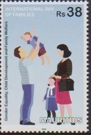 MAURITIUS, 2019, MNH,INTERNATIONAL FAMILY DAY, CHILDREN, 1v - Childhood & Youth